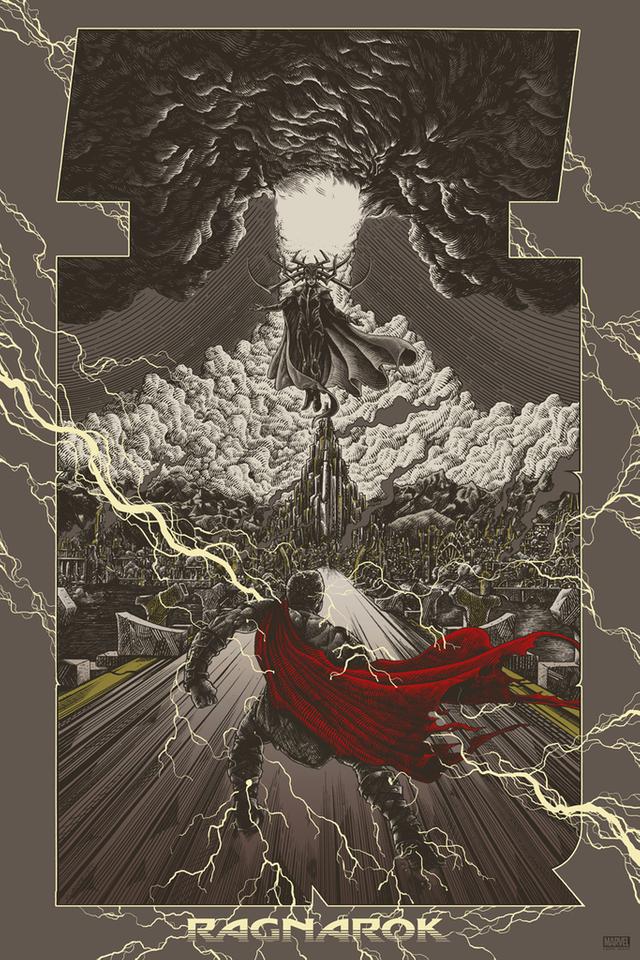 Thor Ragnarok (2017) [683 x 1024] MoviePosterPorn