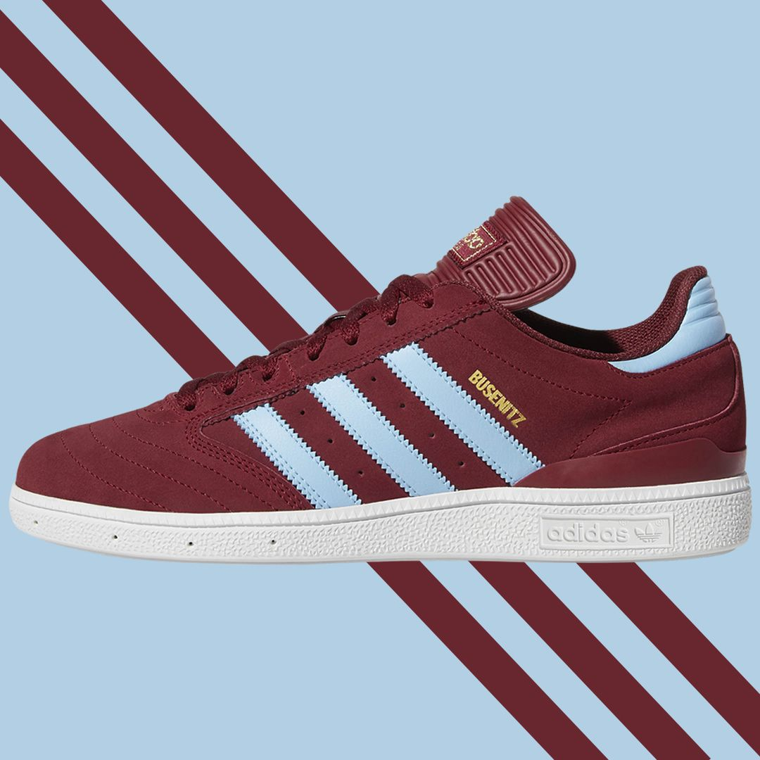 super popular 5a721 2b291 Stunning adidas Claret  Blue a great look retro style the Busenitz is  inspired by popular old skool styles including the football Copa Mundial  with ...