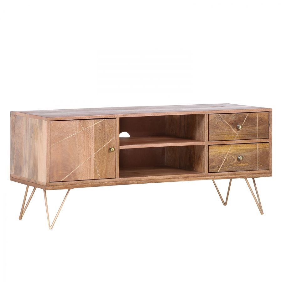 Tv Lowboard Zürich Murillo Tv Stand For Tvs Up To 43