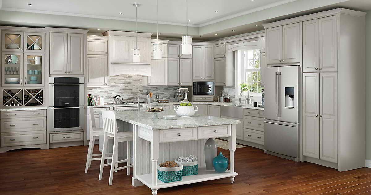Menards Kitchen Cabinets Layout (Dengan gambar)