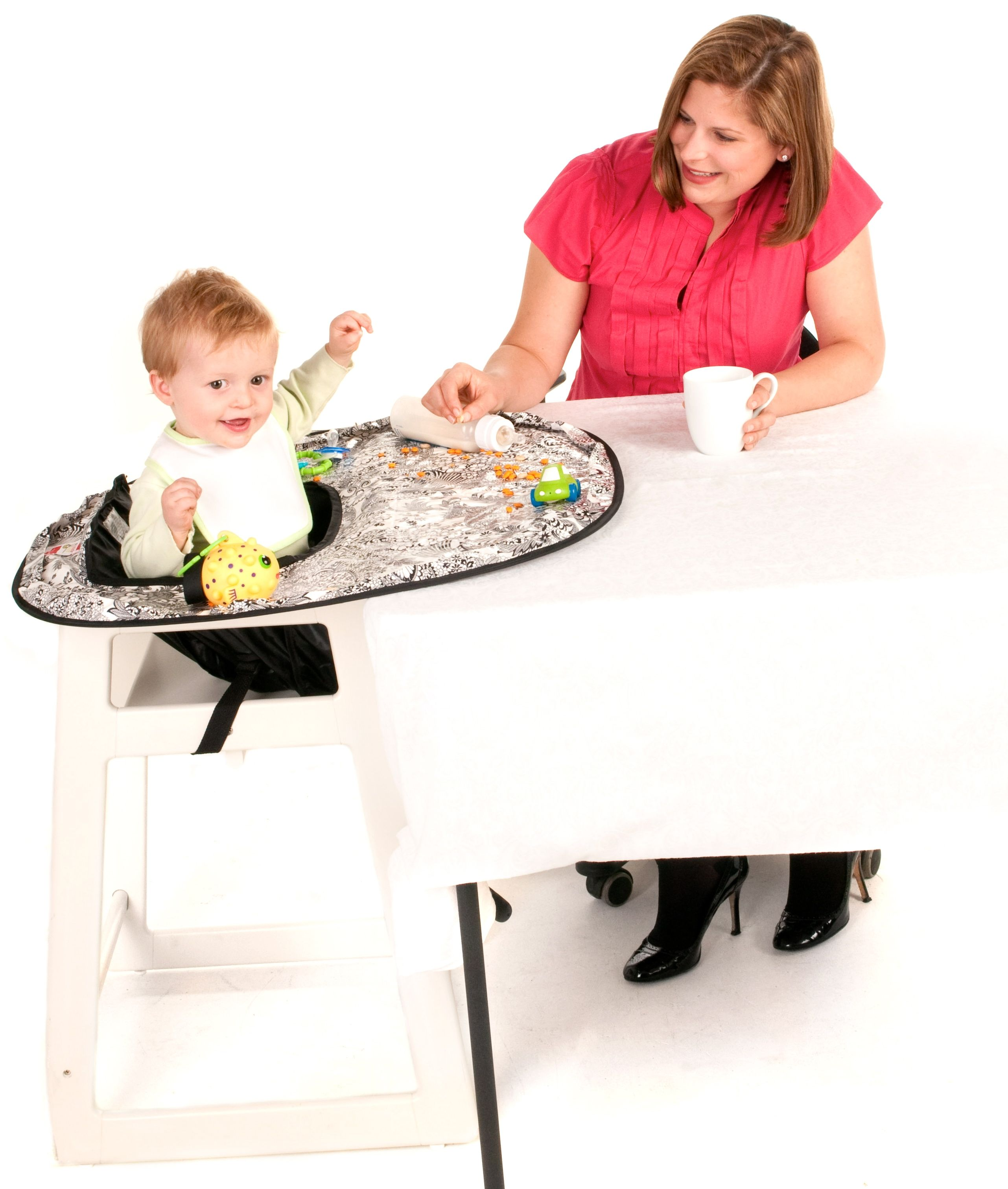 Neatnik Saucer Highchair Cover Baby Grows