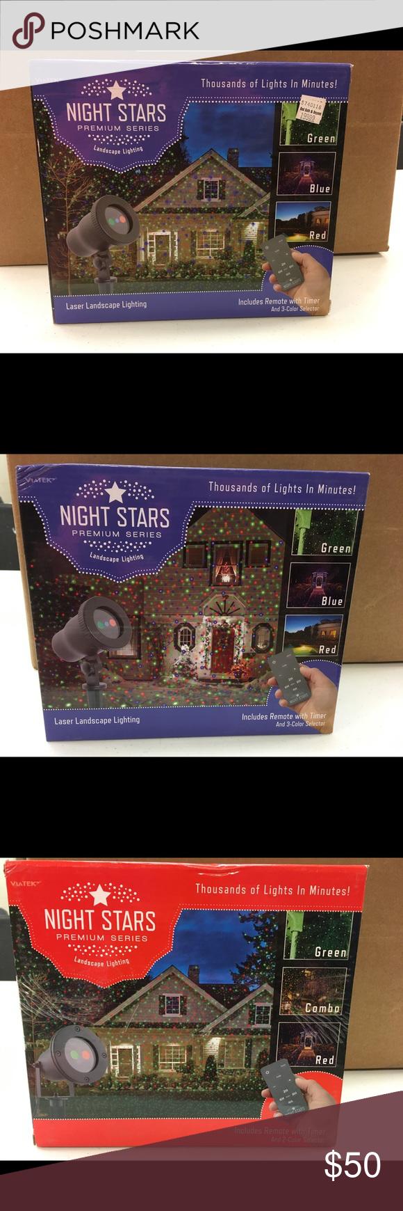 Brand New Laser indoor or outdoor Christmas lights NWT | Outdoor christmas lights, Outdoor ...