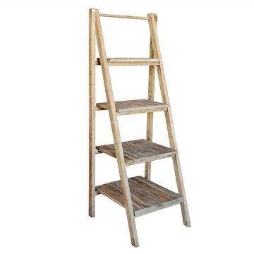 wholesale dealer bf899 53abb Vanda Recycled Pine Timber Folding Ladder Display Shelf ...