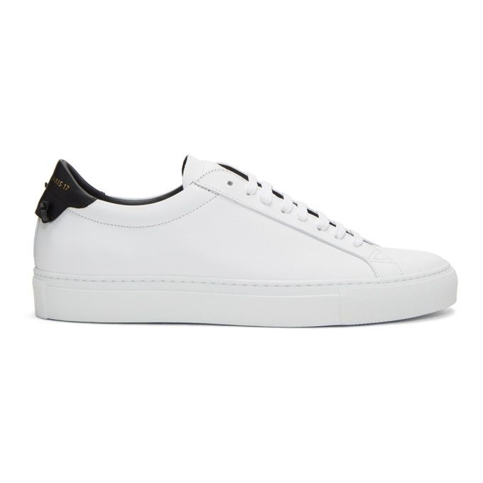 Givenchy White & Black Urban Knots Sneakers nC6vqk