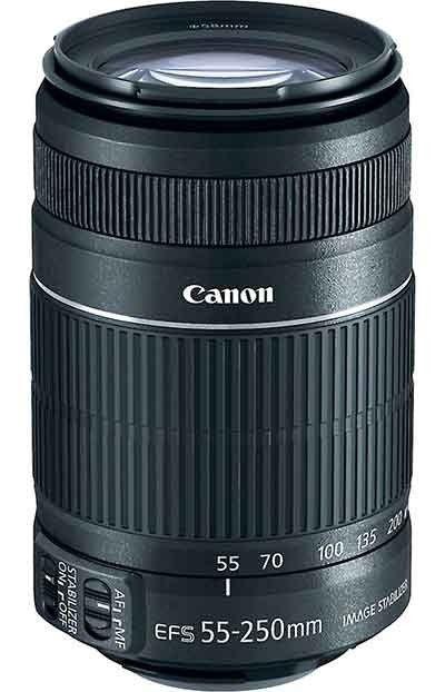 Canon 55 250mm Stm Lens Reflex Digitale Dslr Camera Eos