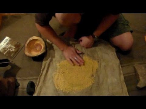 Making Acorn Bread for Survival Part 2