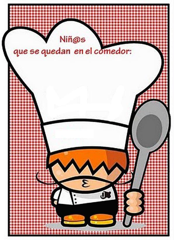 Alumnos del 595 822 cartel comedor pinterest for Cartel comedor infantil