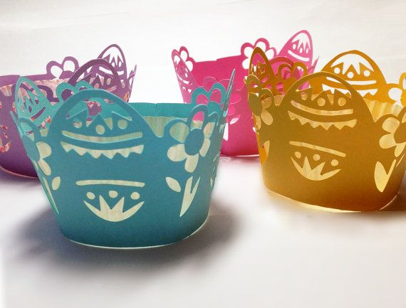 Hey, I found this really awesome Etsy listing at https://www.etsy.com/listing/221895598/easter-cupcake-wrappersleeves-cut-outs