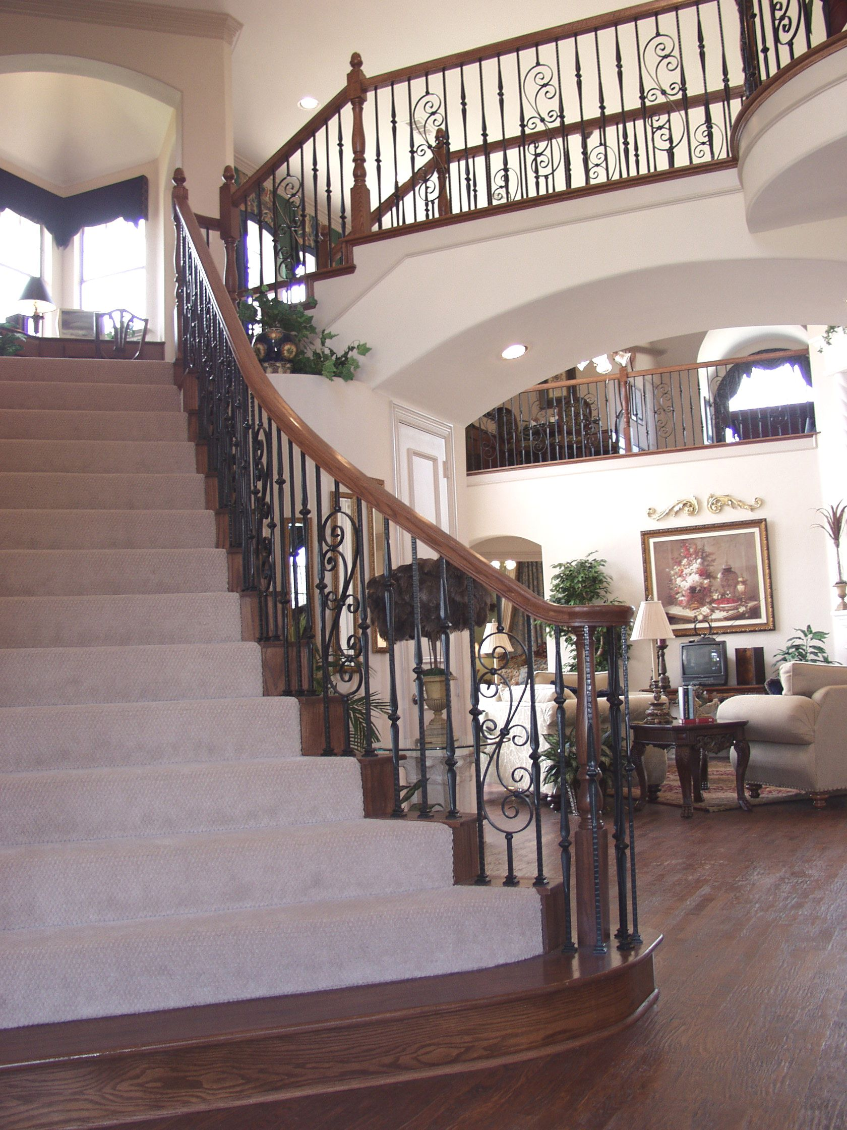 Best This Staircase Design Was Created Using Gothic Square 640 x 480