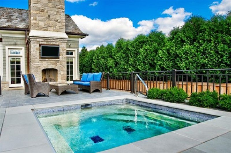 Relaxing Small Inground Pools Backyard ~ http://lanewstalk.com/the-possibility-of-having-small-inground-pools-at-home/