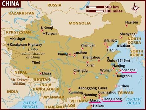China Hong Kong Macau Travel Time China Tourism China
