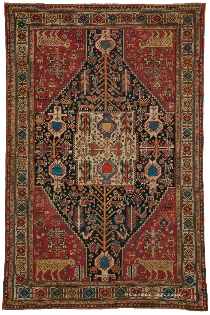 Qashqai Shekarlu Antique Rug Claremont Rug Company Persian Rug Rugs On Carpet Rugs