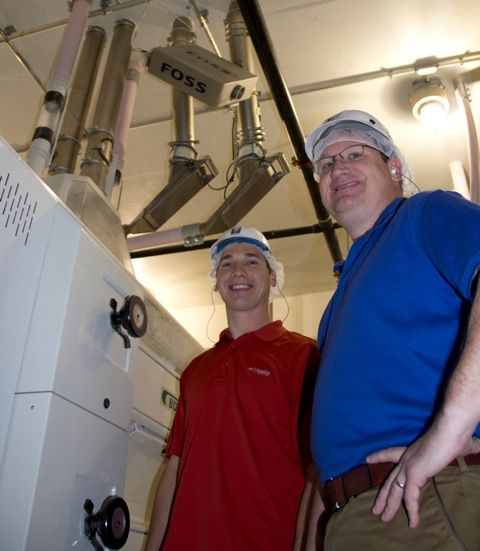 Milling industry partner, FOSS, donates near infrared technology to Kansas State University's grain science and industry department.
