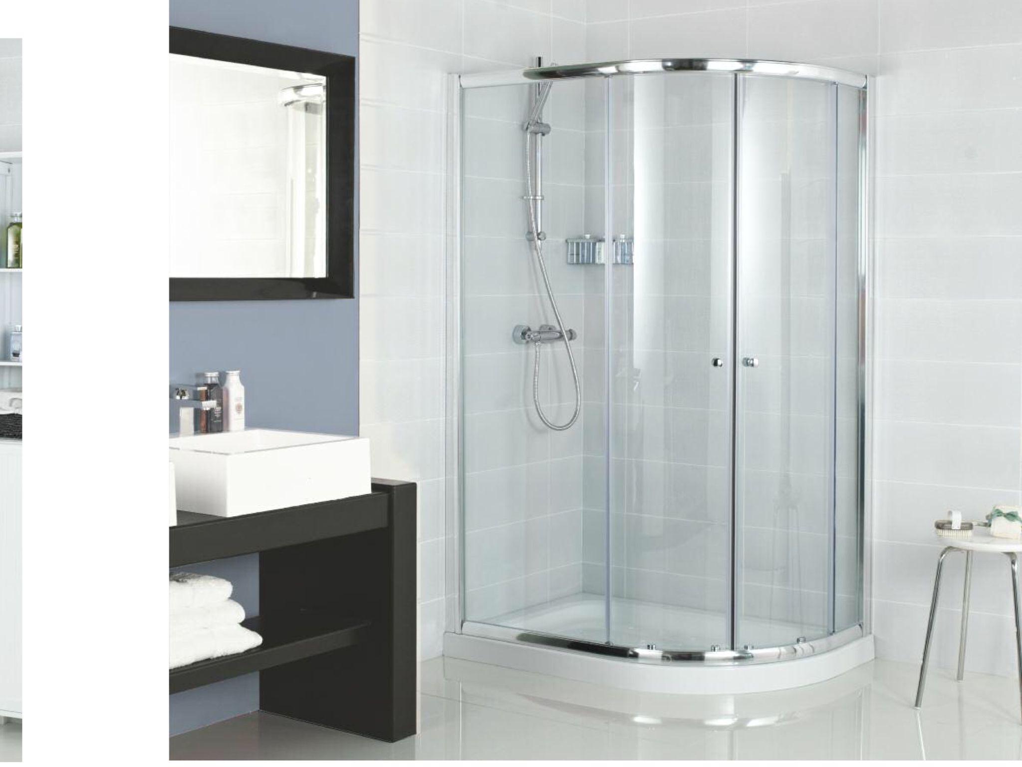 Instinct 6 1000 x 800 quadrant shower enclosure | interiors ...