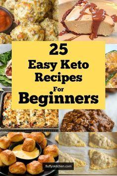 25 Easy Keto Recipes for Beginners  25 Easy Keto Recipes for Beginners