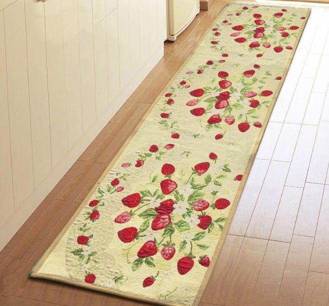 Strawberry Kitchen Rugs