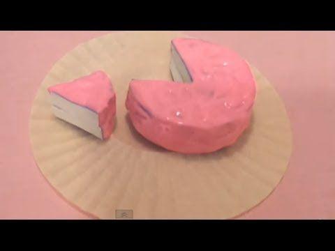 Diy Squishy Cake : Homemade Squishy Cake With Slice Tutorial squishy tutorial Pinterest Homemade, Tutorials ...