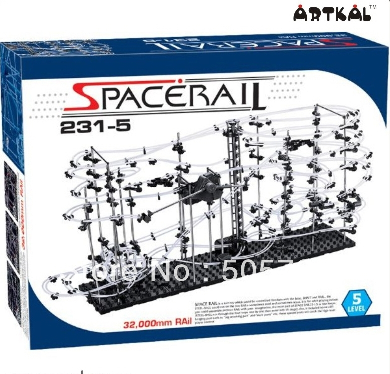 77.99$  Buy here - http://alinct.worldwells.pw/go.php?t=1469761990 - free shipping 1pc spacerail bolck building 231-5 educational toys great fun puzzle game