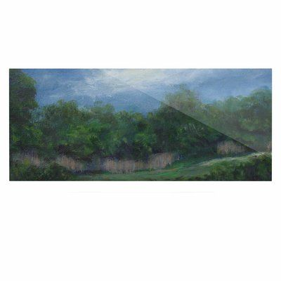 """East Urban Home 'A Cooler View' Painting Print on Metal Size: 16"""" H x 20"""" W x 1"""" D"""