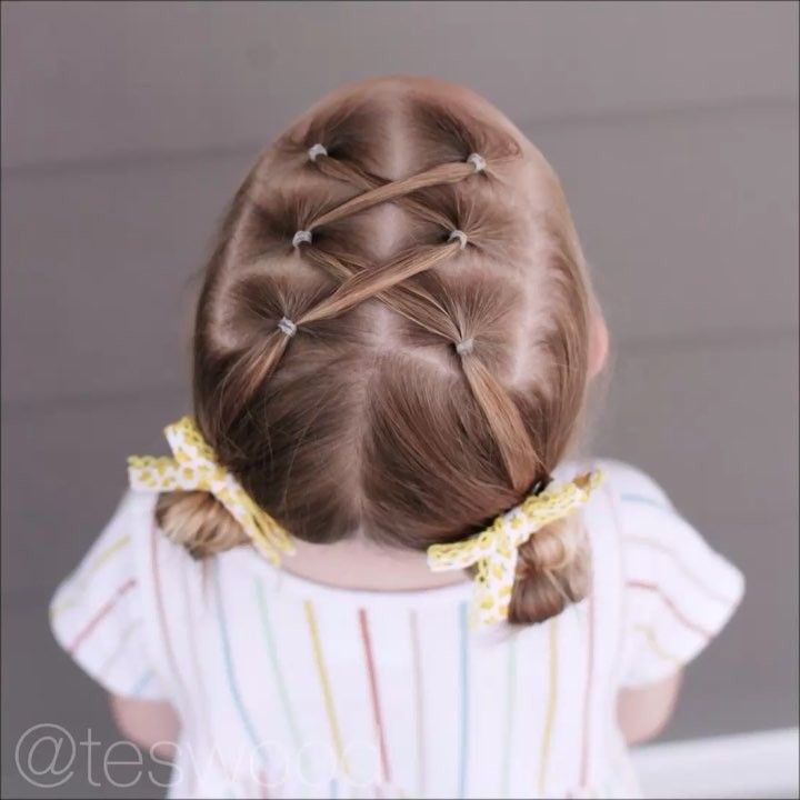 Toddler Hairstyles | Elastic Toddler Hairstyle Teswood Lyanna Hair Ideas In 2018