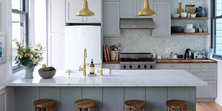 This Is Why Designers Are So Obsessed With IKEA Kitchens — House Beautiful -   18 room decor Ikea kitchens ideas