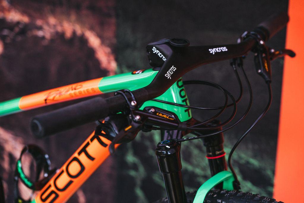 Bike Check Nino Schurter S 60th Anniversary Edition Scott Spark