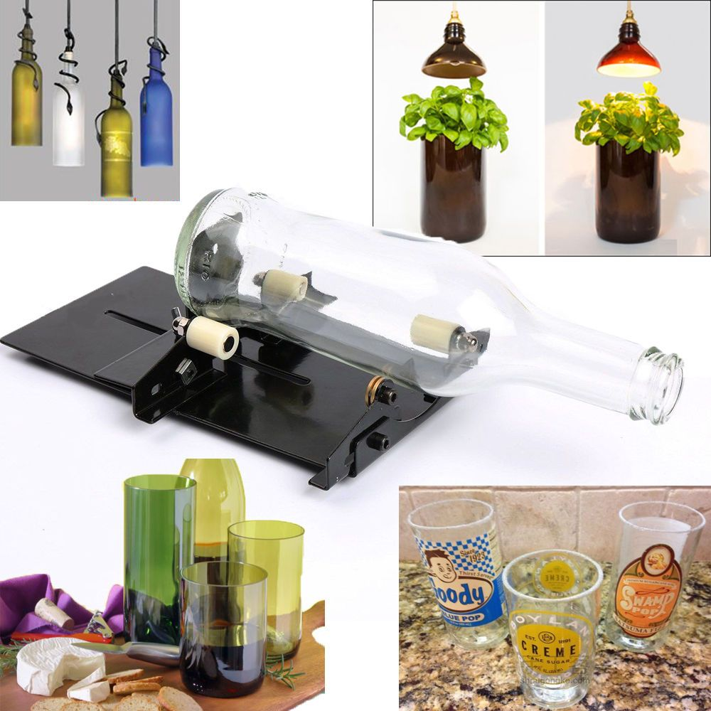 Recycle Glass Bottles And Jars And Create Functional Art At The