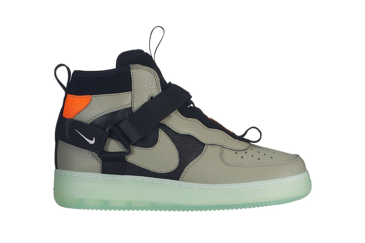 A Strappy New Nike Air Force 1 Utility Mid Model Has