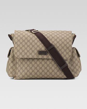e05a61bf4 Gucci Large GG Diaper Bag | Cute things | Gucci, Bolsos, Bebe