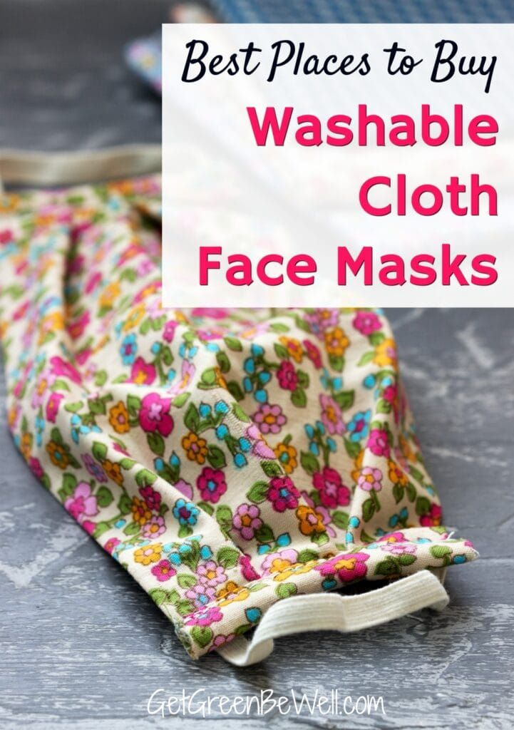 Washable Cloth Face Masks Diy face mask, Cleaning