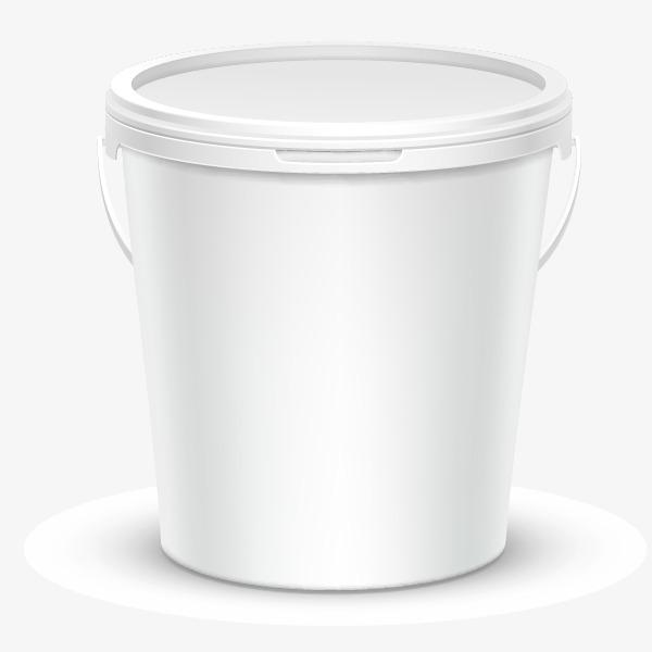 Blank Bucket Bucket Paint Buckets Trash Can