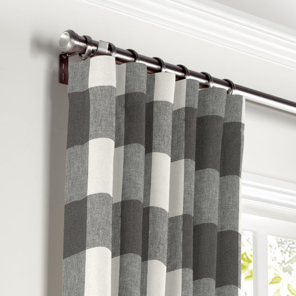 Convertible Drapery Custom Drapes Curtains Geometric Curtains