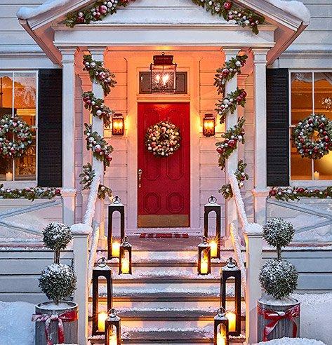 Caleb Lantern Black Large In 2020 Outdoor Christmas Outdoor Christmas Diy Front Porch Christmas Decor