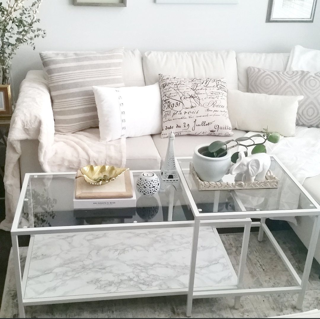 Ikea Marble Top Coffee Table: I've Come To This Realization That I Would Have Anything
