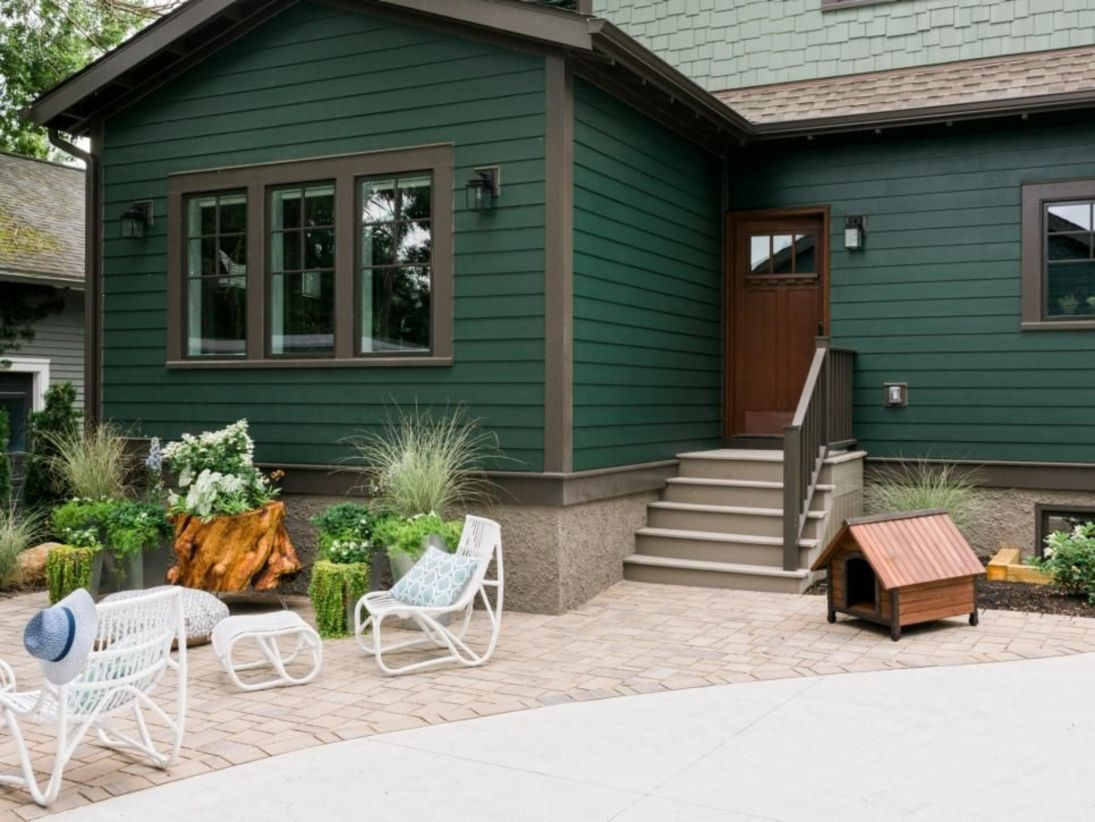 37 Green Exterior House Paint images