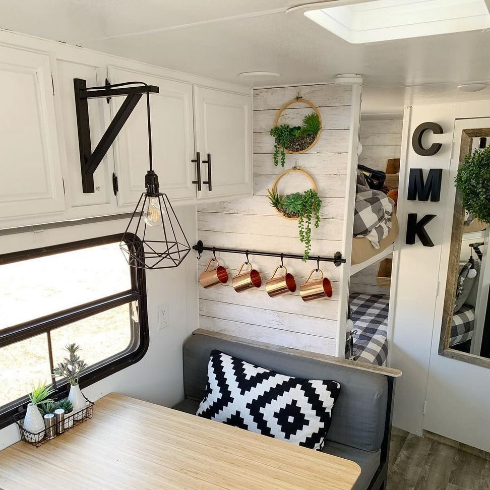 An rv teaches you to be clean finally upgrading your rvs exterior lighting may also this converted sprinter van is  surprisingly livable tiny house on rh pinterest