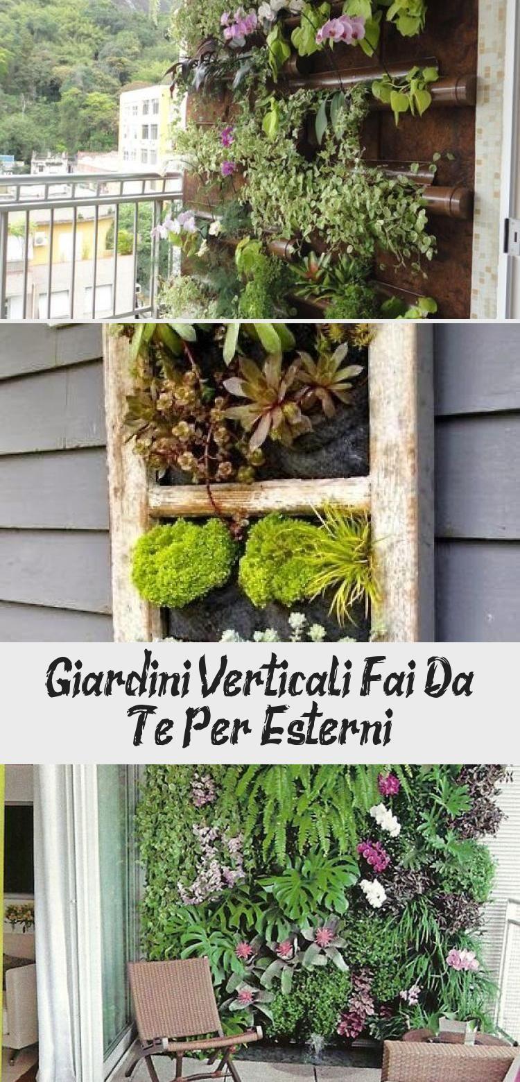 Giardini Verticali Fai Da Te giardini verticali fai da te per esterni in 2020 | pallet