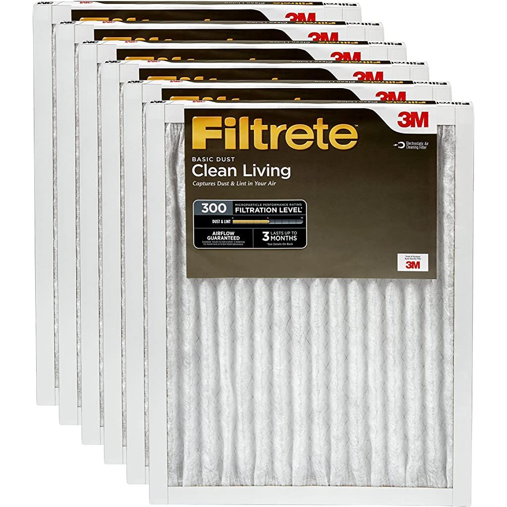 Filtrete MPR 300 16x20x1 AC Furnace Air Filter Clean