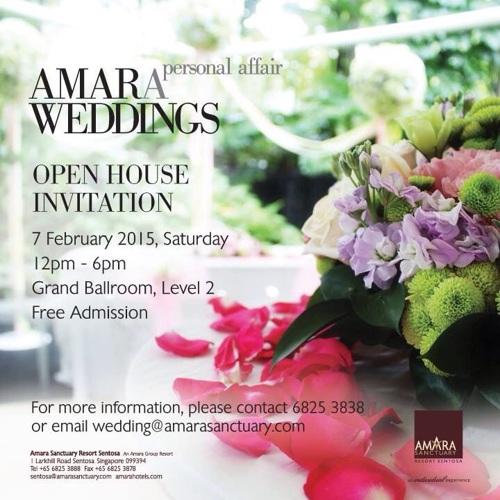 This is our invitation to you Join us in our Wedding Open House - fresh invitation card wedding singapore