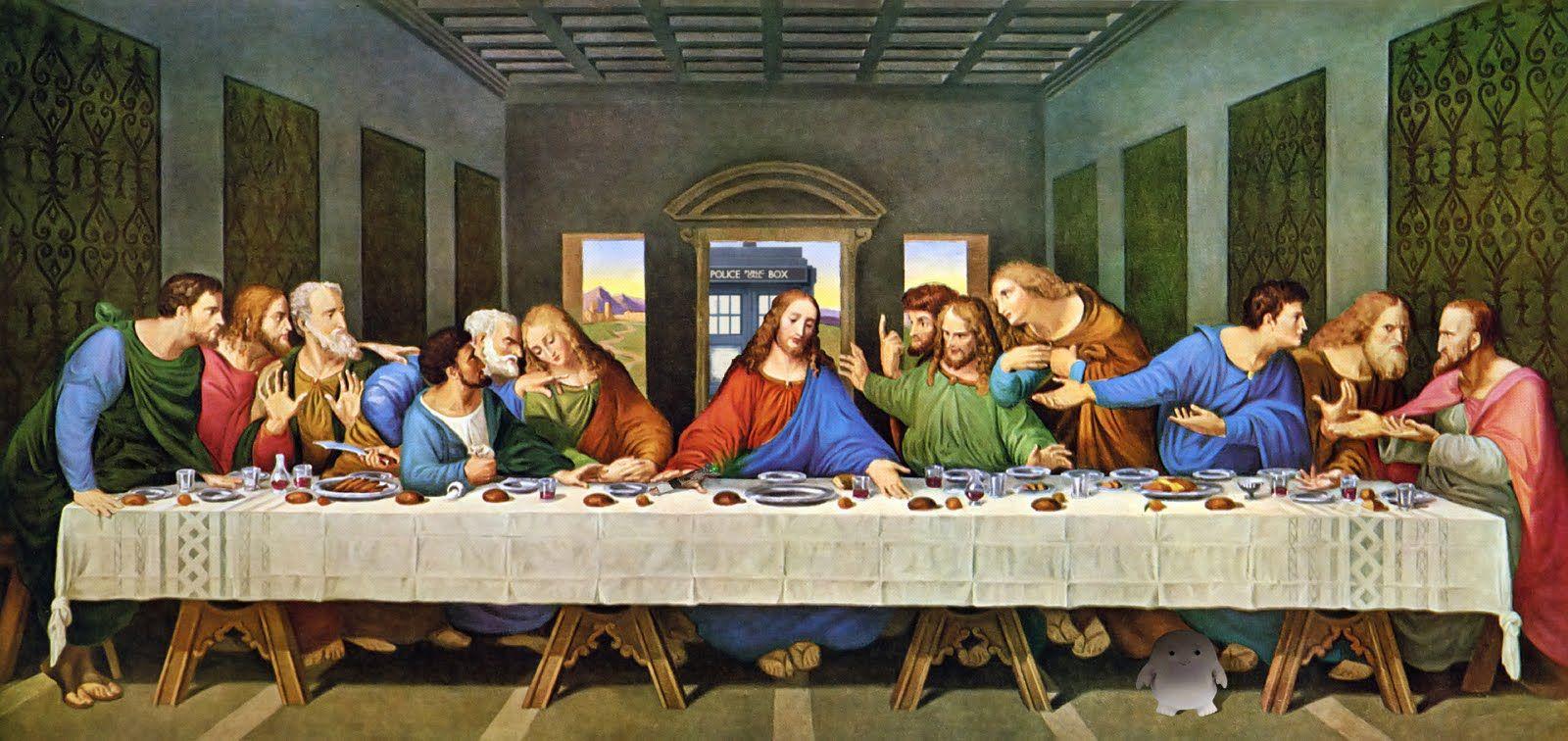 Lastsupperwho Jpg 1600 756 Cuadro De La última Cena La Ultima Cena Ultima Cena De Jesus
