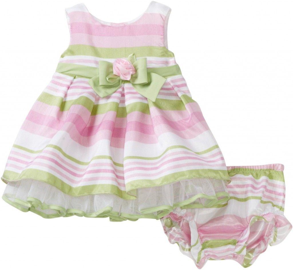 b2098021f798 Youngland Baby Girls Newborn Two Piece Sleeveless Dress with nice ...