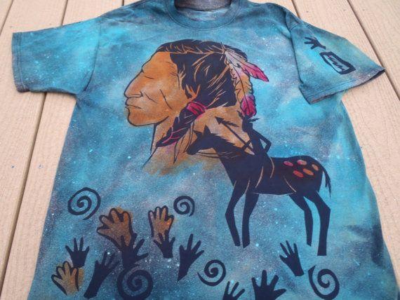 New Native American Rock Art by ArtrageousWearables on Etsy, $30.00
