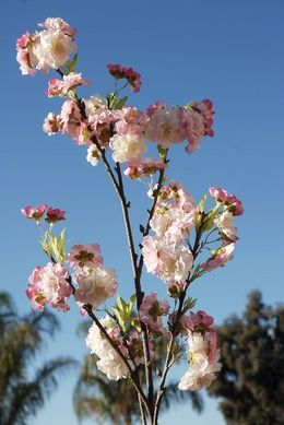 Cherry Blossom Branches 45 In Artificial Cherry Blossom Branch Cherry Blossom Wedding Artificial Flowers