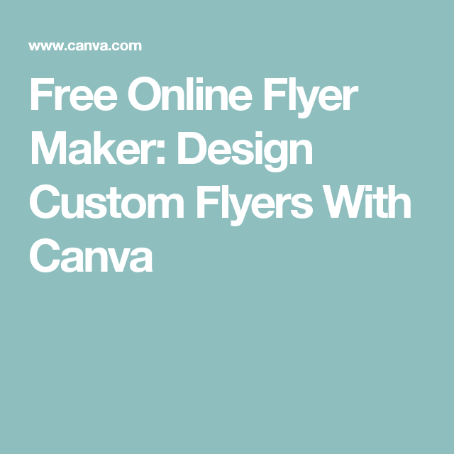 free online flyer maker design custom flyers with canva piano