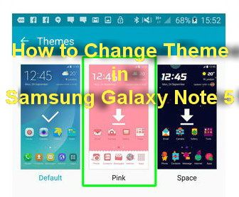 How To Change Theme In Samsung Galaxy Note 5 Samsung Galaxy Note 5 Manual Galaxy Note 5 Samsung Galaxy Note Samsung Galaxy