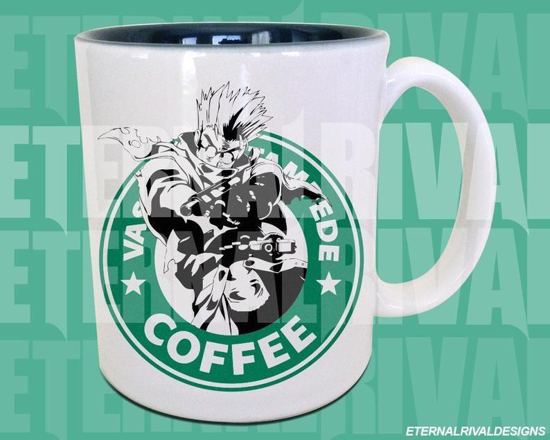 Male anime manga parody coffee tea mug 011 etsy tea