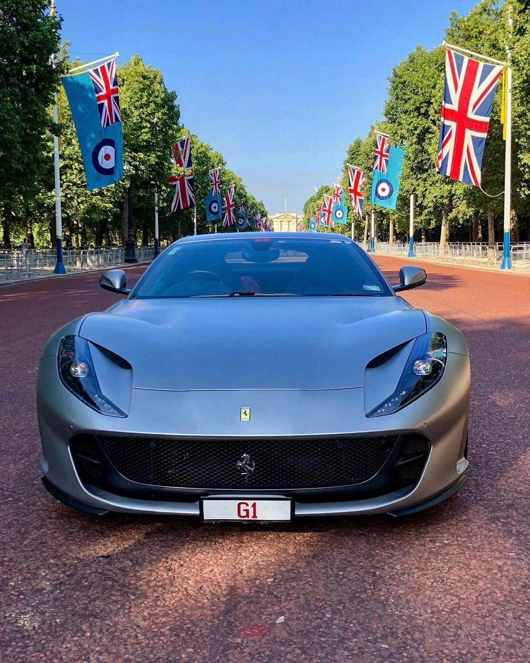 Grantkbaker S 812 Superfast At The Mall In London Would You Ship Your 812 All The Way From New Zealand To The United Kingdom Cool Sports Cars Ferrari