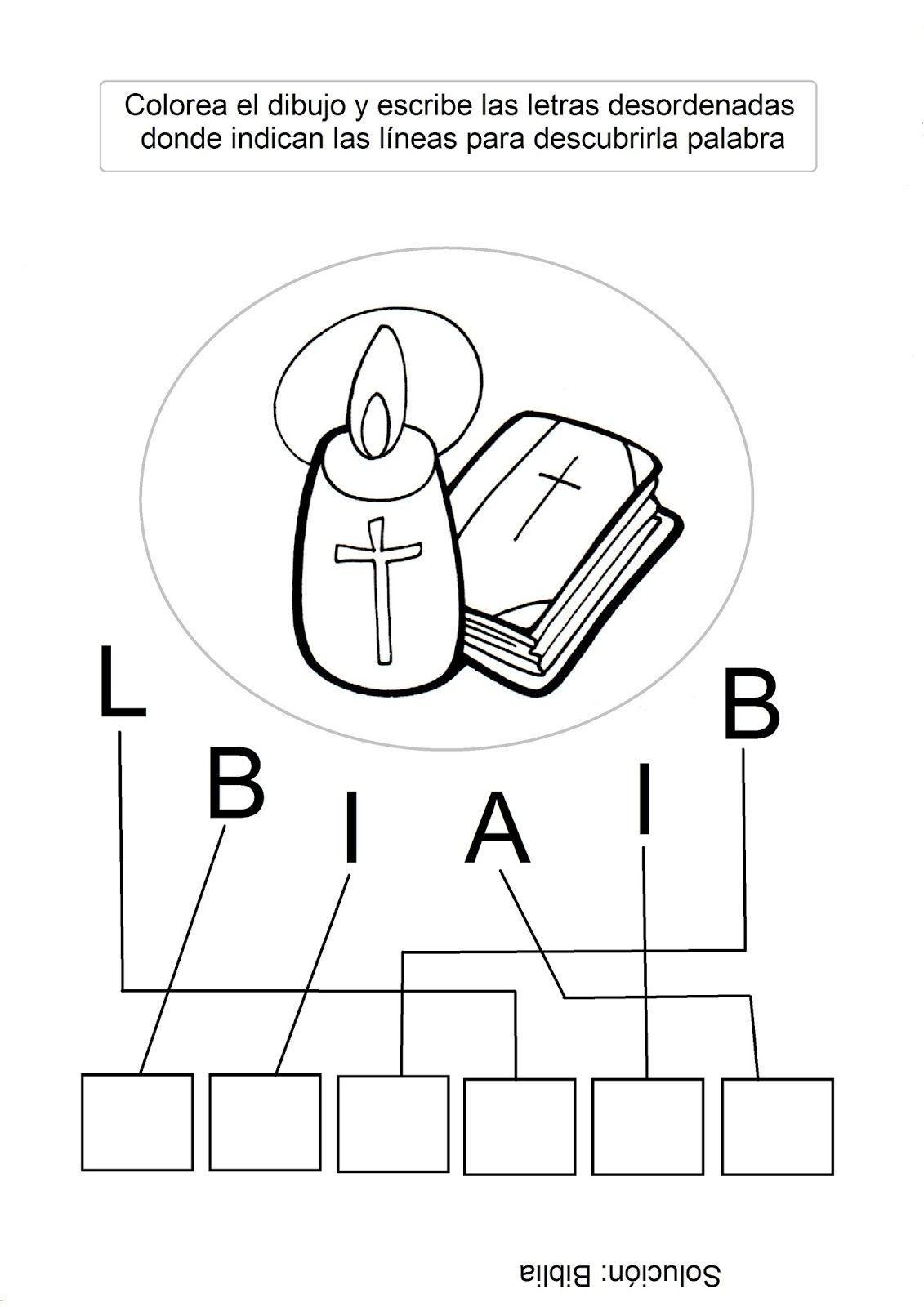 El Rincón De Las Melli Biblia Para Niños Manualidades De