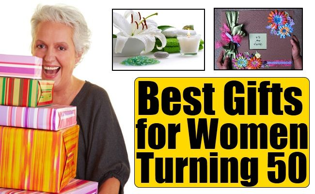 Best Gifts for Women Turning 50