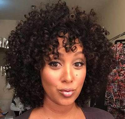 Curly Afro Weave Hairstyles | Hairstyles Ideas For Me di 2018 ...